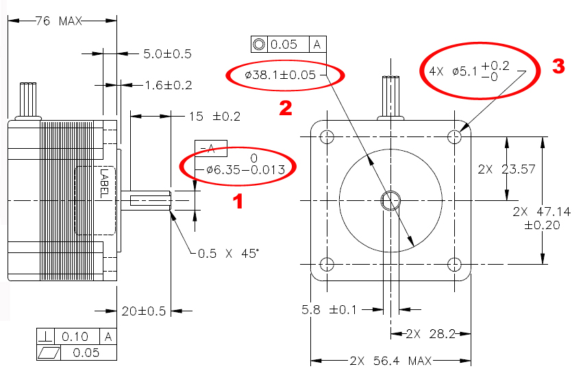 how to connect a motor to a shaft