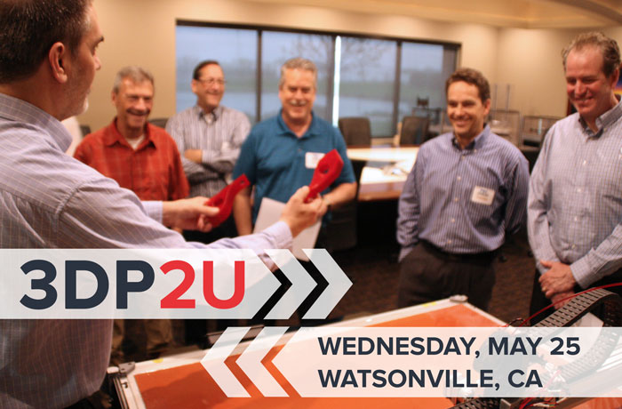 3DP2U Open House May 25