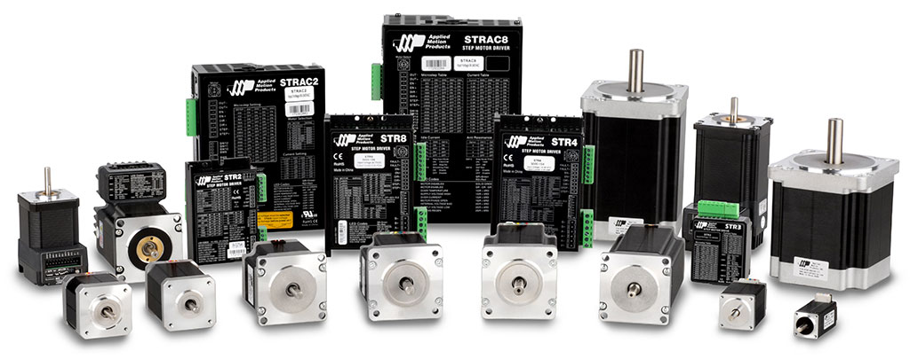 STR Stepper Drives and motors
