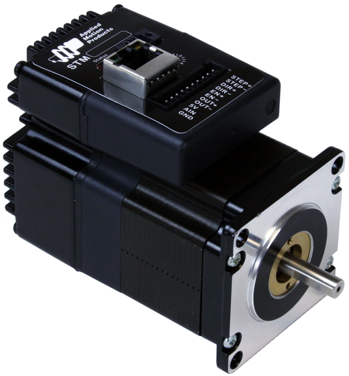Stm23s 2ee applied motion for Integrated servo motor and drive