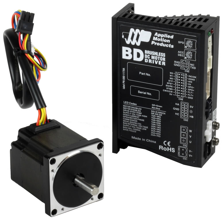 brushless dc motors and drives series applied motion